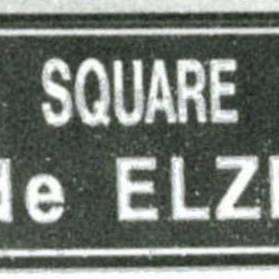 """Square de Elze"" in Ecouché"